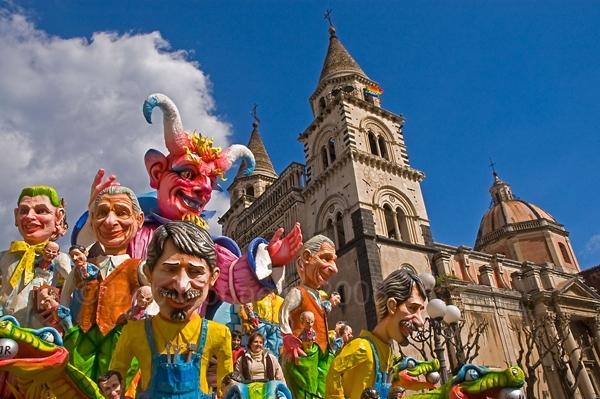 Вся Сицилия + карнавалы и праздник Св. Агаты